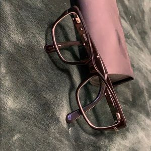 Black Guess Shiny Glasses